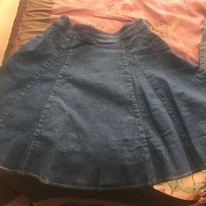 Dresses & Skirts - Denim Skort